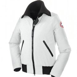 Alternative To Canada Goose Jackets Canada Goose Huron Bomber Jaket White Women