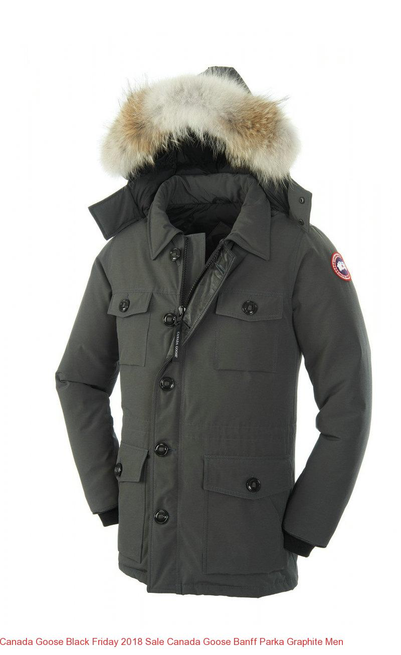 Canada Goose Black Friday 2018 Sale Canada Goose Banff Parka Graphite Men – Canada Goose Outlet Online,Canada Goose Jackets On Sale Free Shipping!