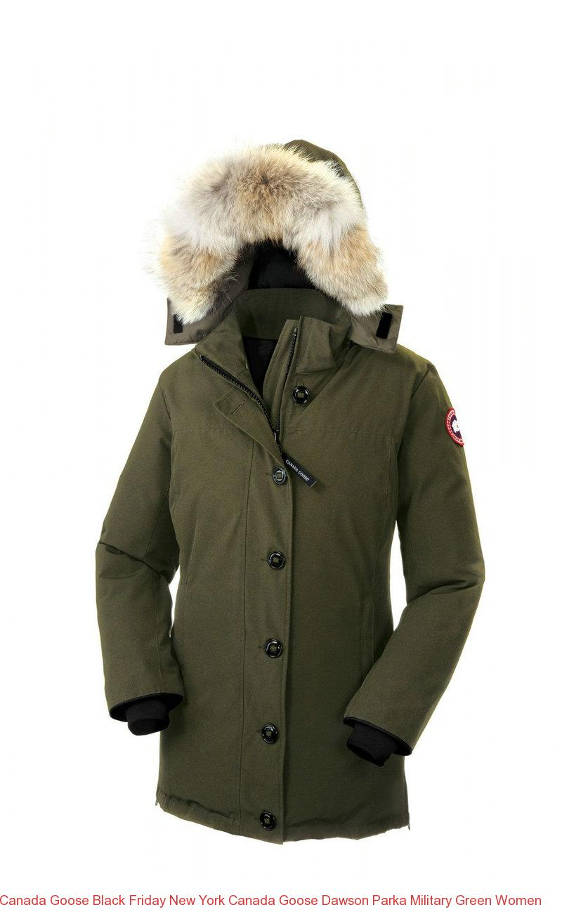Canada Goose Black Friday New York Canada Goose Dawson Parka Military Green Women