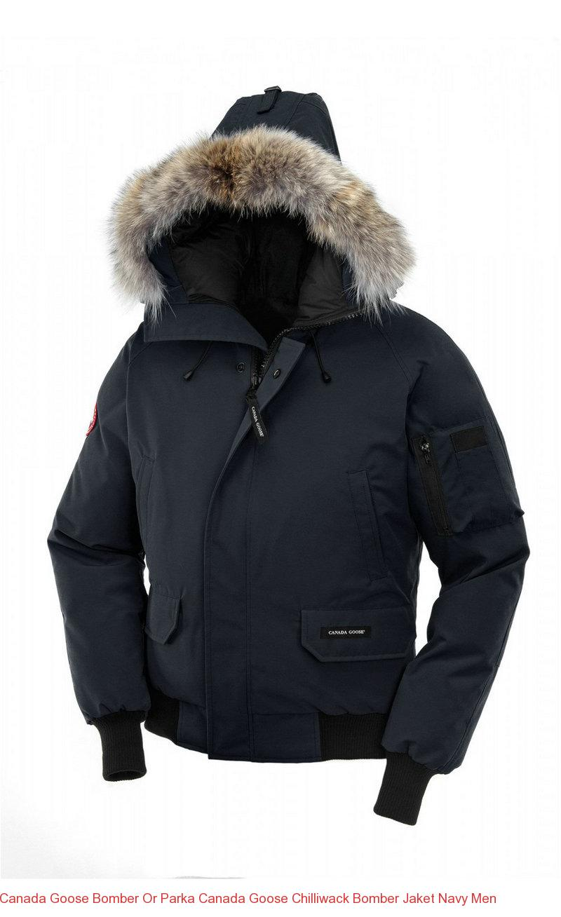 canada goose bomber or parka