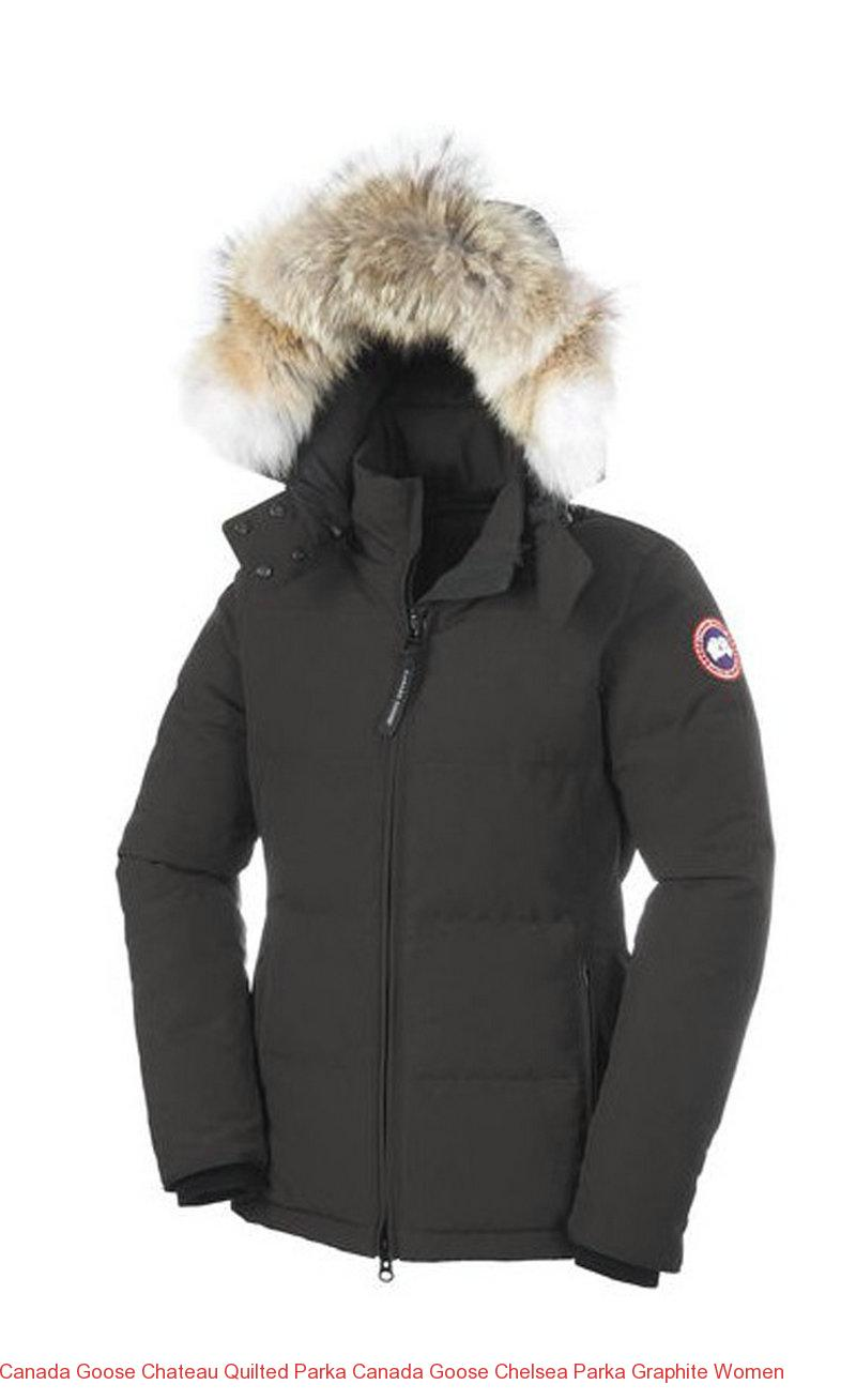 canada goose chateau quilted parka