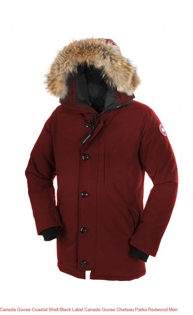 fe9fd0e99 Canada Goose Coastal Shell Black Label Canada Goose Chateau Parka Redwood  Men