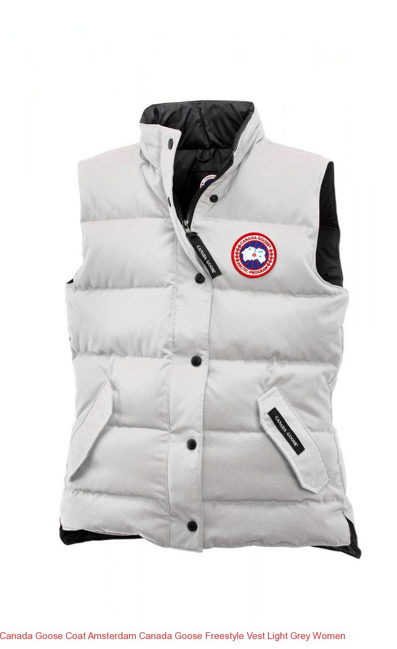 Canada Goose Coat Amsterdam Canada Goose Freestyle Vest Light Grey Women – Canada  Goose Outlet Online 7559f47a54cd