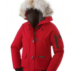 ... Canada Goose Coat Black Canada Goose Chilliwack Bomber Jaket Red Women 2934be442