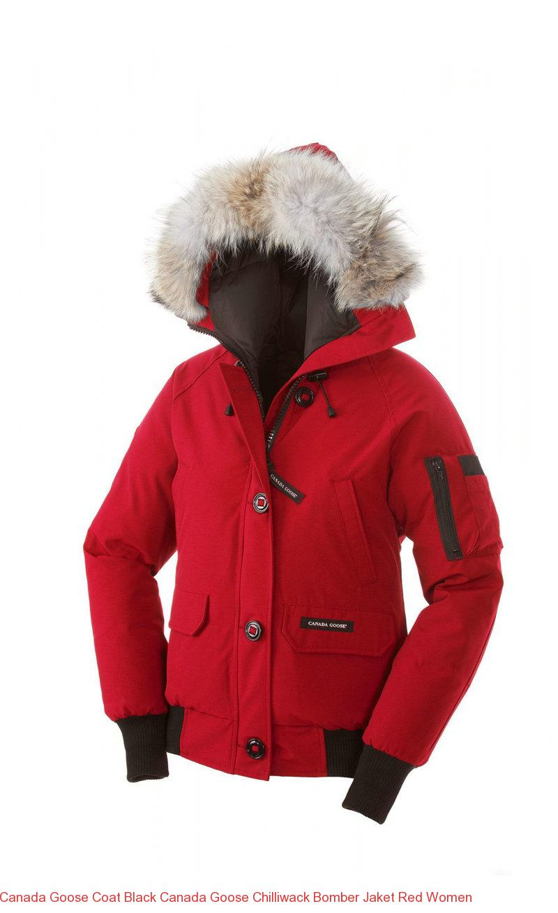canada goose red coat womens