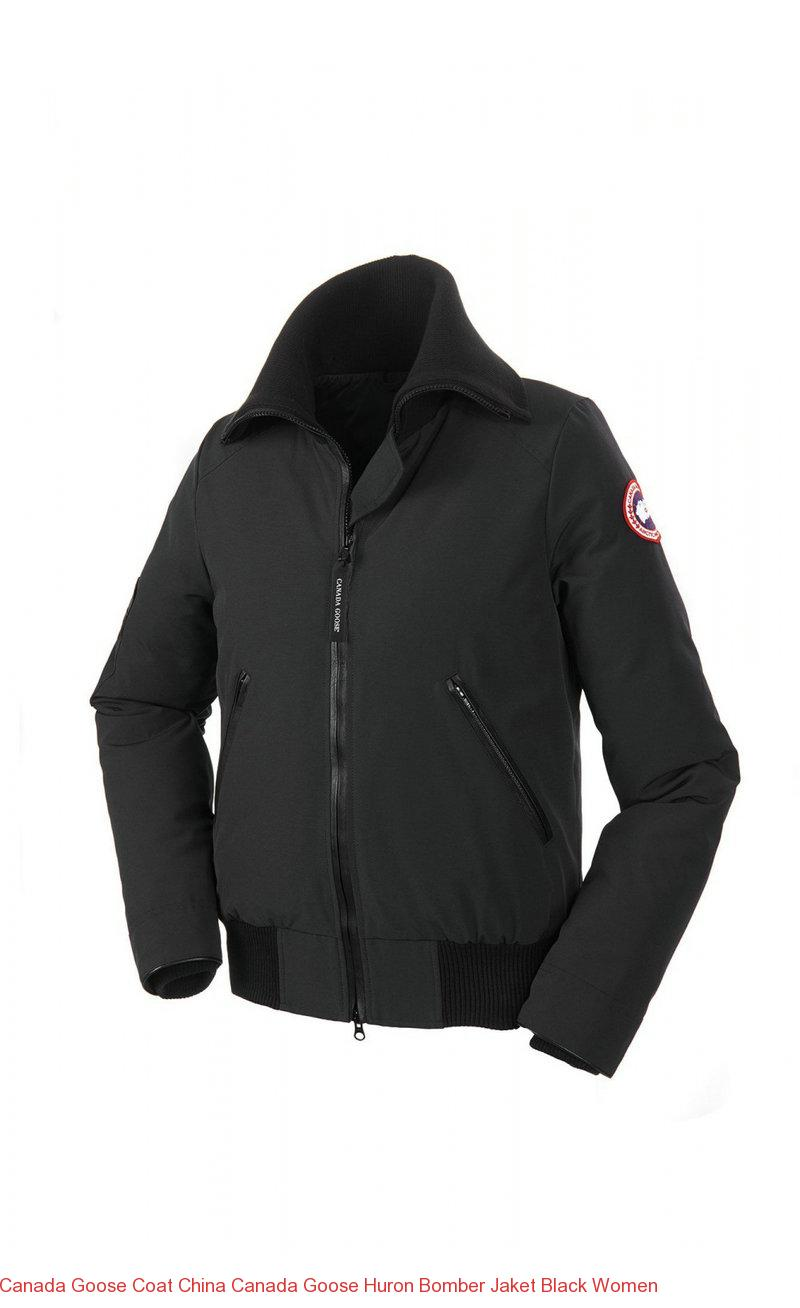 Canada Goose Coat China Canada Goose Huron Bomber Jaket Black Women – Canada Goose Outlet Online,Canada Goose Jackets On Sale Free Shipping!