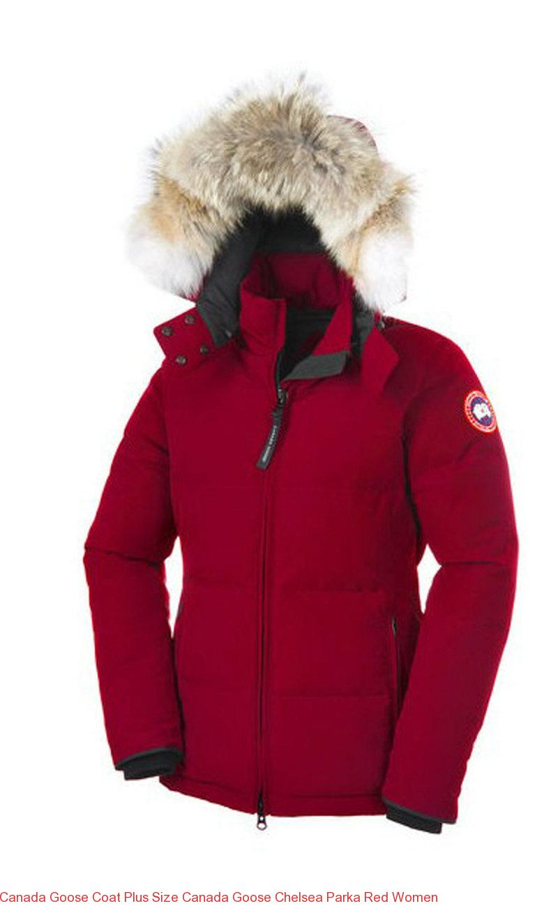 Canada Goose Coat Plus Size Canada Goose Chelsea Parka Red Women – Canada  Goose Outlet Online b1b1444ffd