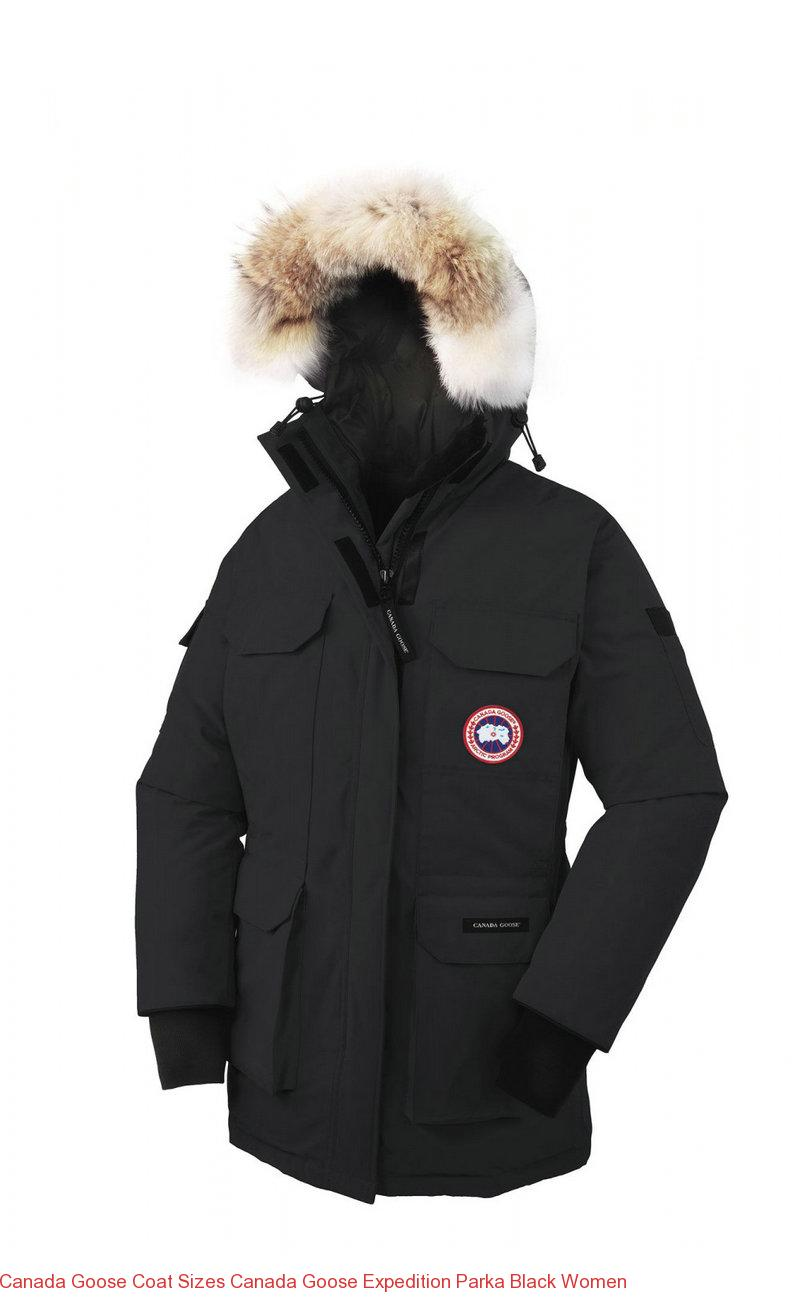 Canada Goose Coat Sizes Canada Goose Expedition Parka Black Women – Canada  Goose Outlet Online eefa373f8f