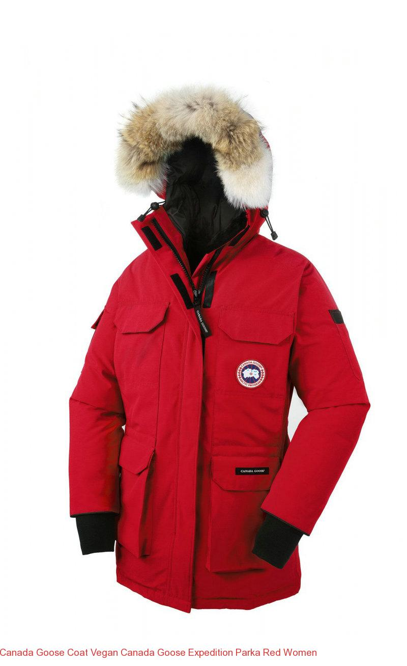 b55ac4258c4b Canada Goose Coat Vegan Canada Goose Expedition Parka Red Women – Canada  Goose Outlet Online