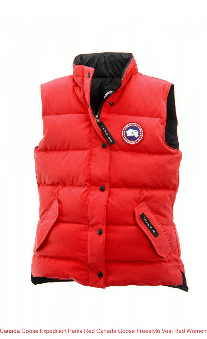 Canada Goose Expedition Parka Red Canada Goose Freestyle Vest Red Women