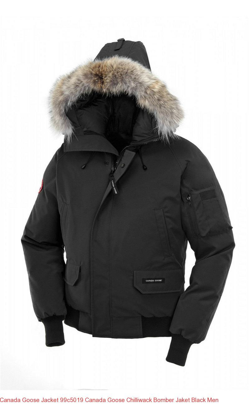 black canada goose jacket mens