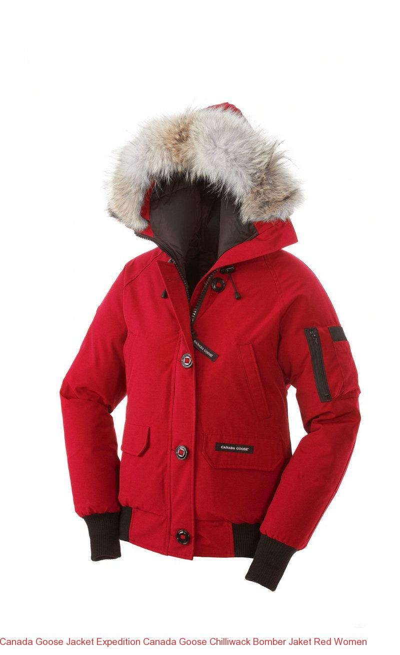 419ba30e8ab2 Canada Goose Jacket Expedition Canada Goose Chilliwack Bomber Jaket Red  Women – Canada Goose Outlet Online