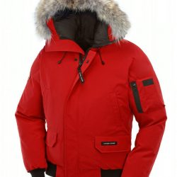 Canada Goose Jacket Fur Made Of Canada Goose Chilliwack Bomber Jaket Red Men dfbff8461