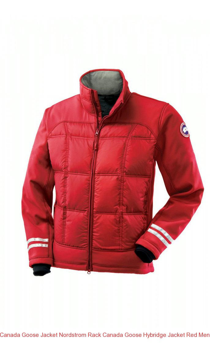 canada goose jackets red mens