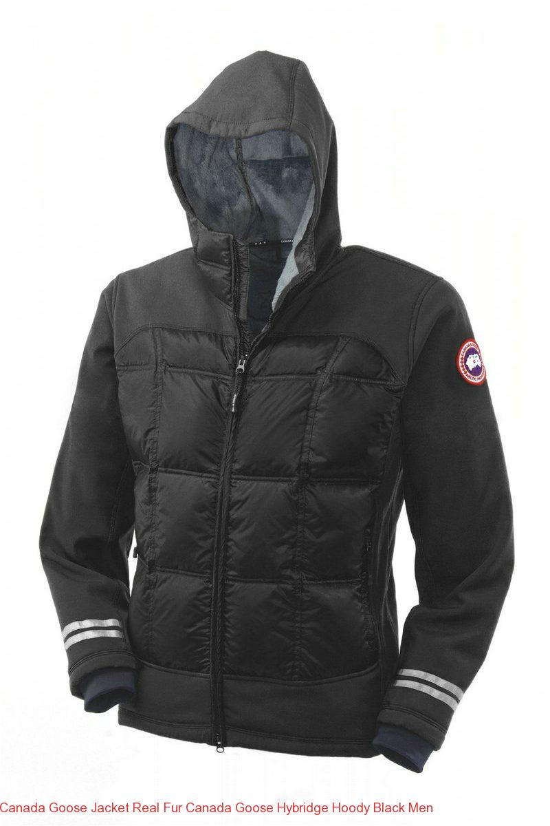 is canada goose real fur