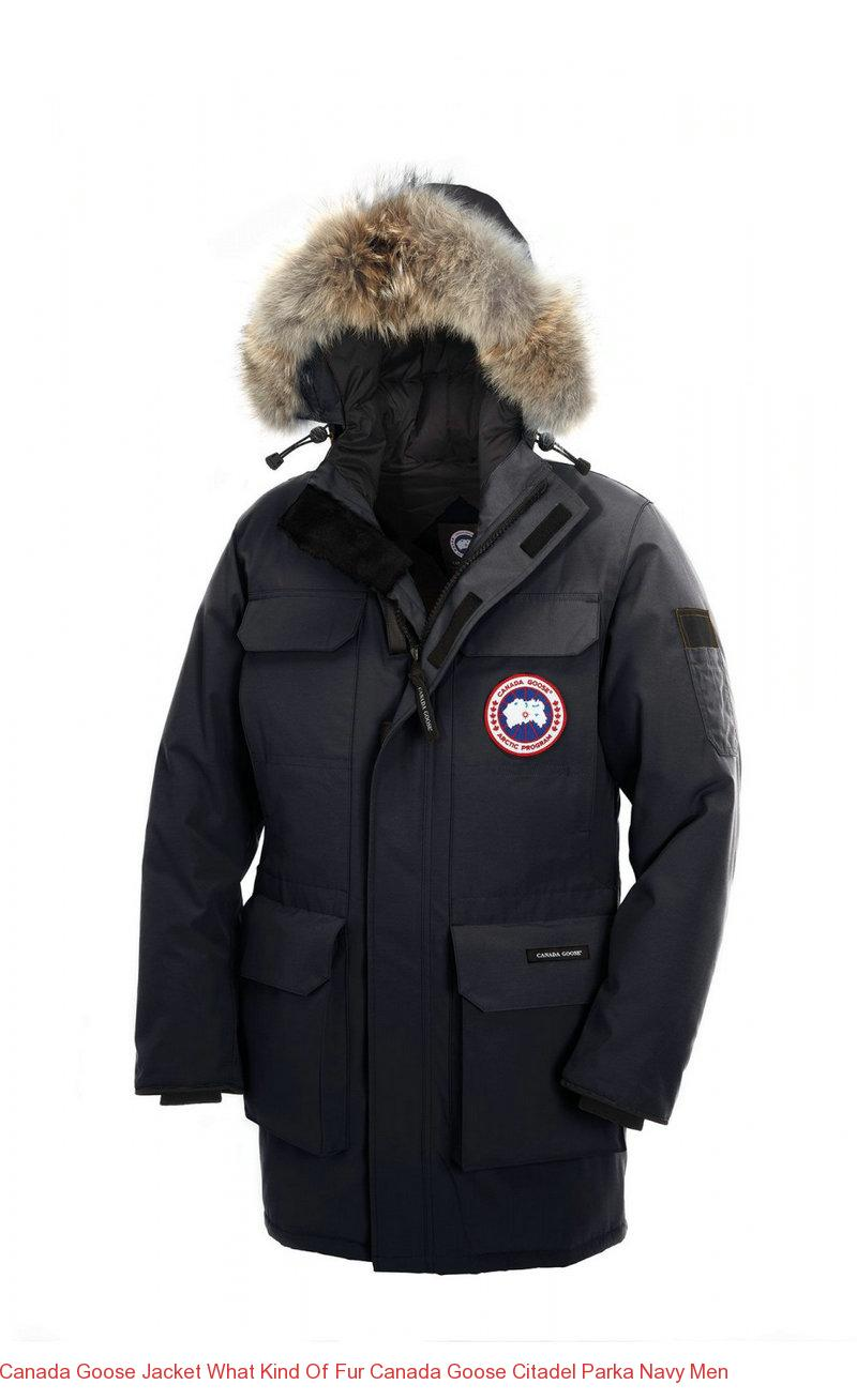 Canada Goose Jacket What Kind Of Fur Canada Goose Citadel Parka Navy Men – Canada Goose Outlet Online,Canada Goose Jackets On Sale Free Shipping!