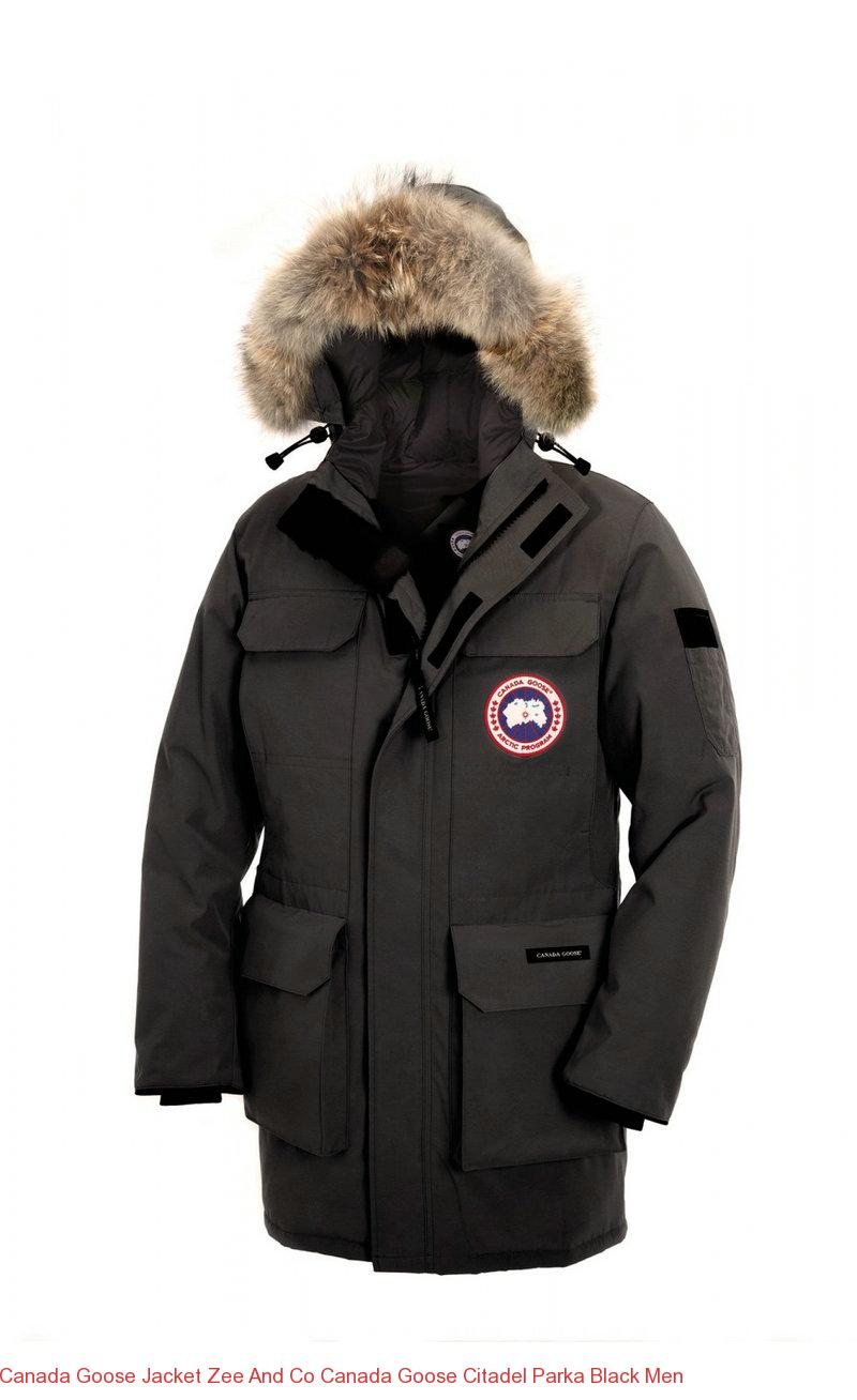 e936a0da59b Canada Goose Jacket Zee And Co Canada Goose Citadel Parka Black Men