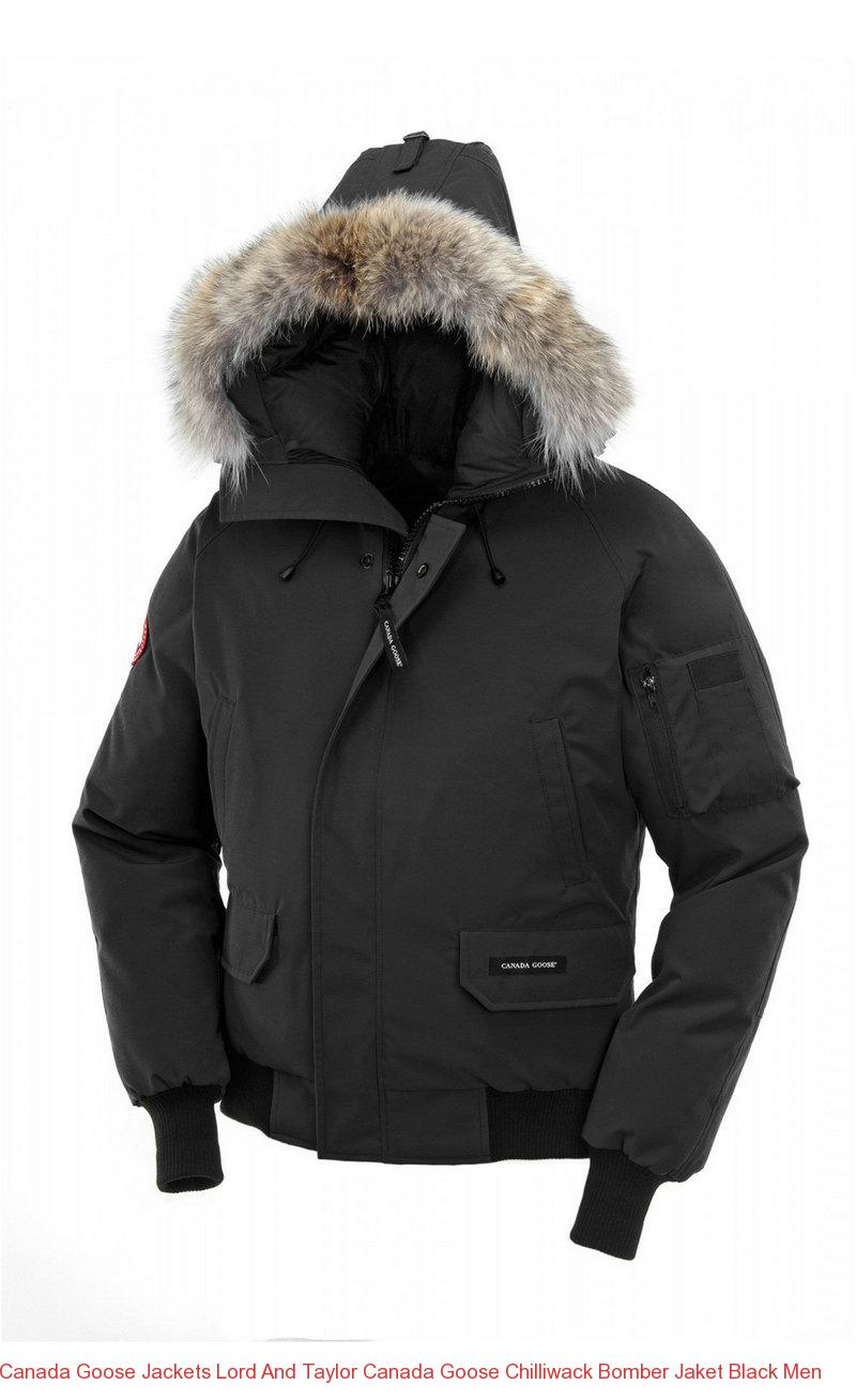 f2d4837c88c Canada Goose Jackets Lord And Taylor Canada Goose Chilliwack Bomber Jaket  Black Men