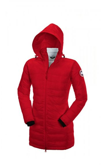 canada goose Lightweight Down Jackets Red