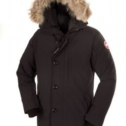 Canada Goose Chateau Parka with Fur Hood in Gray for Men