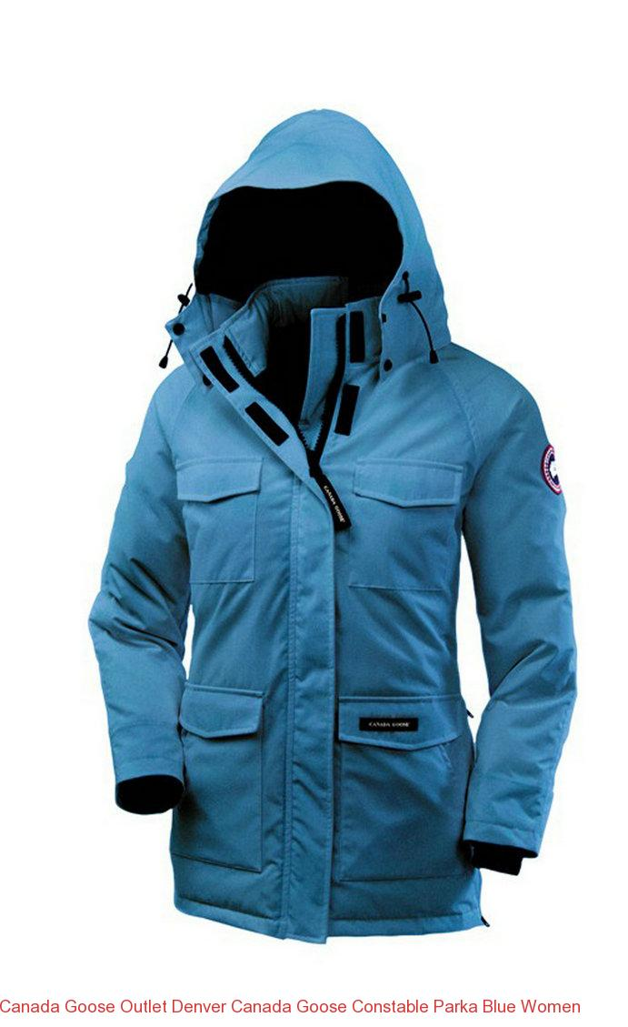 Canada Goose Outlet Denver Canada Goose Constable Parka Blue Women – Canada  Goose Outlet Online,Canada Goose Jackets On Sale Free Shipping! b475267126b3