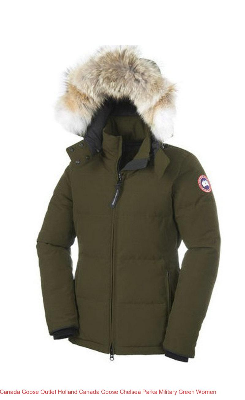 Canada Goose Outlet Holland Canada Goose Chelsea Parka Military Green Women