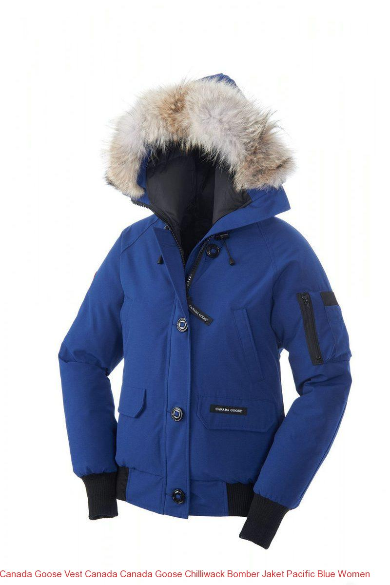 Canada Goose Vest Canada Canada Goose Chilliwack Bomber Jaket Pacific Blue Women