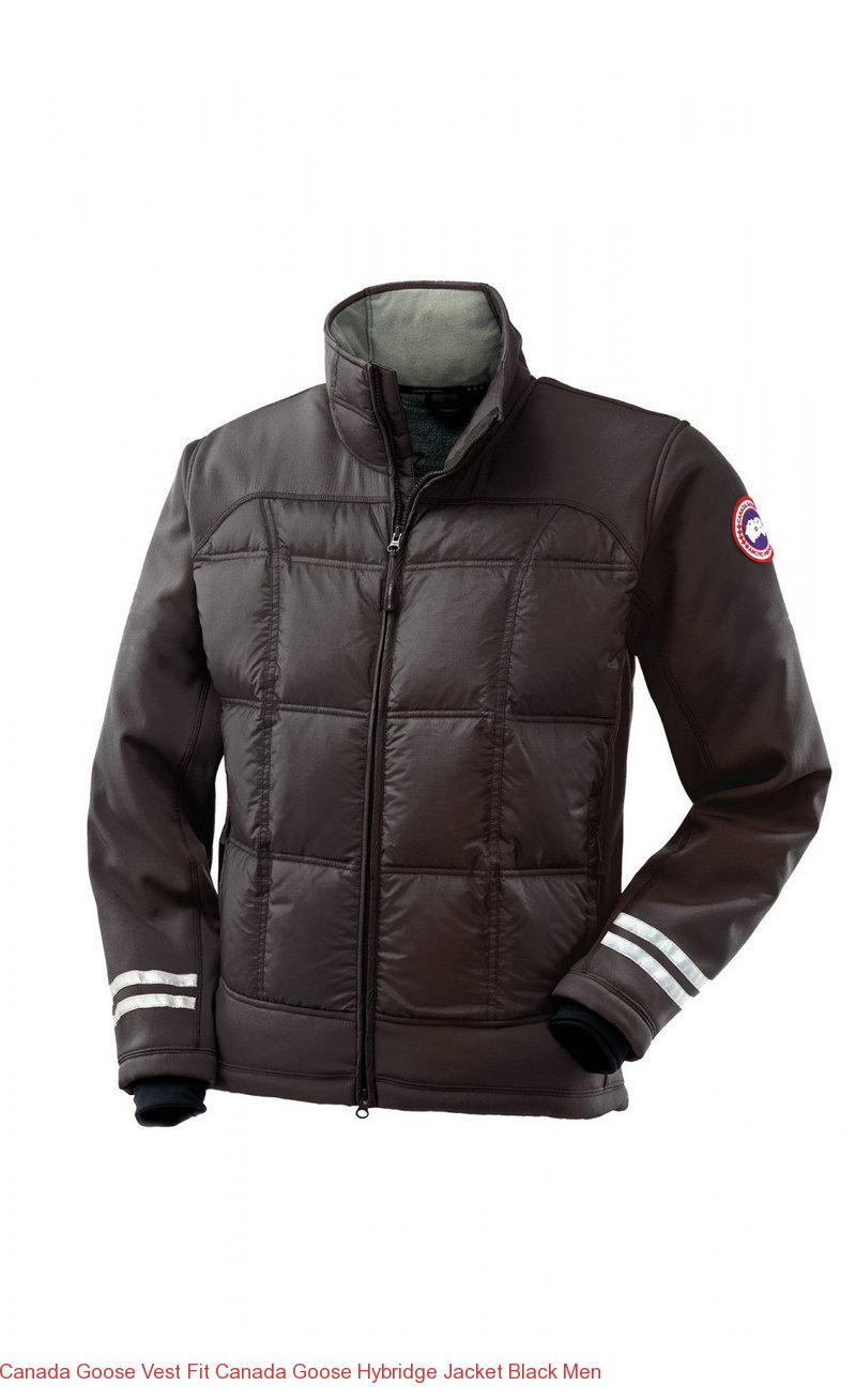 Canada Goose Vest Fit Canada Goose Hybridge Jacket Black Men – Canada Goose  Outlet Online f660b247b0df